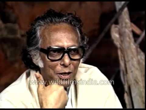 Indian filmmaker Mrinal Sen speaks about his Bengali film ' Akaler Sandhane'