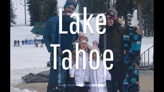 Lake Tahoe Sierra | 4 year old Snowboarding & 6 year old Skiing