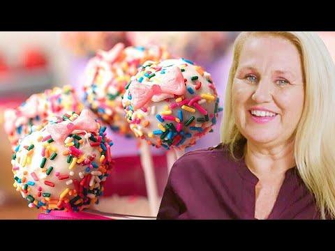 Rainbow Sprinkle Cake Pops // Presented by BuzzFeed & Paramount+