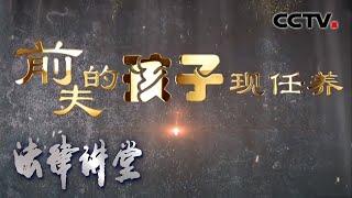 《法律讲堂(生活版)》 20200505 前夫的孩子现任养| CCTV社会与法