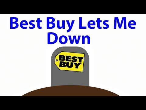 Best Buy Finally Let Me Down!