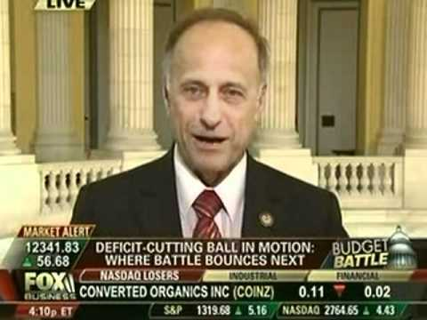 Congressman Steve King on FOX Business - Bulls & Bears