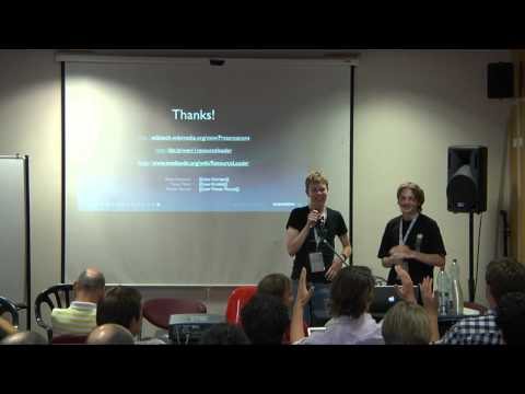 Wikimania 2011 - 2nd Day: Statistical analysis; MediaWiki development