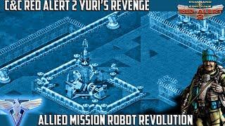 C&C RED ALERT 2 Yuri's Revenge - Allied Fan Mission ROBOT REVOLUTION
