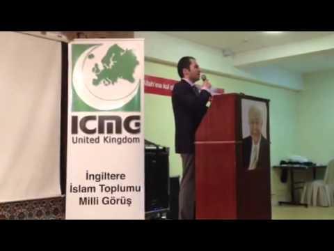 Fatih Erbakan'in Londra Konferansi 5  Bolum