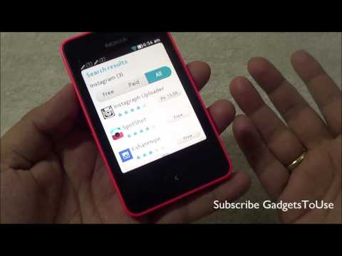 Install Instagram on Nokia Asha 501