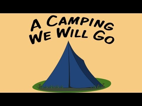 A Camping We Will Go | movement song for children