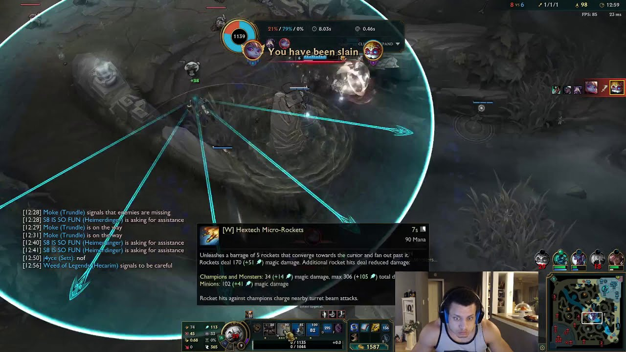 Tyler1 - MID DIFFERENCE!!!