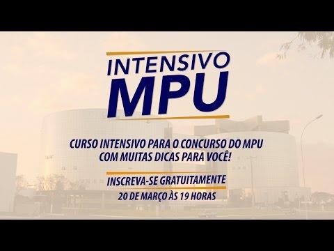 Intensivo MPU - Português | Ao Vivo