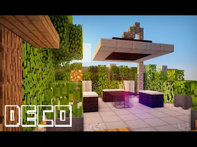 awesome minecraft creer un jardin moderne with belle cuisine minecraft. Black Bedroom Furniture Sets. Home Design Ideas