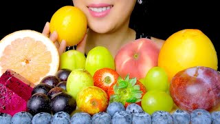 FRUIT ASMR: ASMR COLORFUL MIXE…
