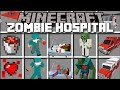 Minecraft ZOMBIE HOSPITAL MOD / FIGHT OFF EVIL ZOMBIES ATTACKING THE HOSPITAL!! Minecraft