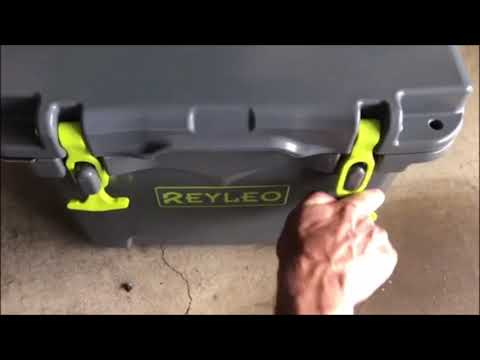 Reyleo 21 Quart Cooler - Heavy Duty Ice Chest Review