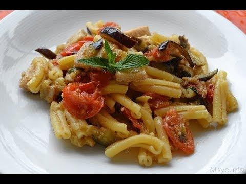 pasta with Sword fish  a sicilian recipe