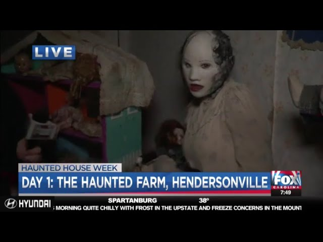 The Haunted Farm 2018 | Sissy & Bubba Lively meet Joe Gagnon on Fox Carolina News LIVE