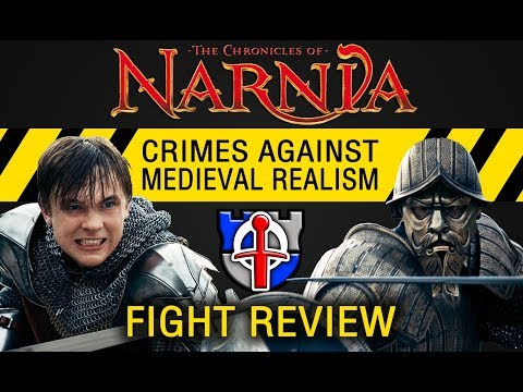 Crimes against medieval realism: Narnia, Prince Caspian figh