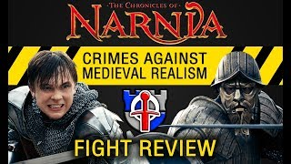 Crimes against medieval realism: Narnia, Prince Caspian fight review