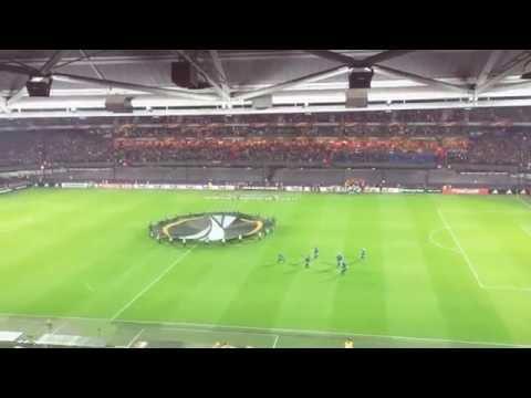 Opkomst Feyenoord - Zorya Luhansk