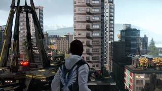 inFamous Second Son - Hero Free Roam Gameplay