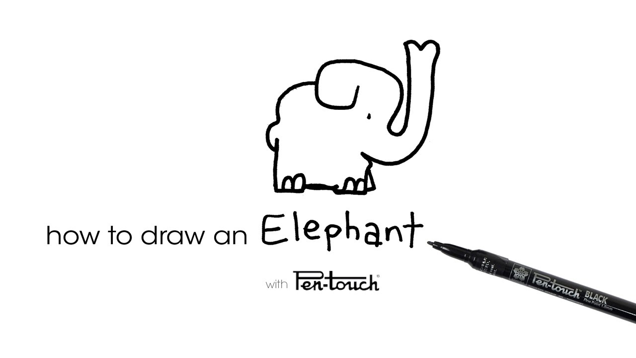 How to Draw an Elephant Tutorial by Turtle Wayne of
