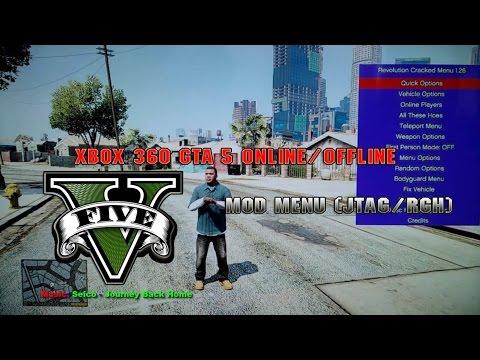 Xbox 360 GTA 5 1 26 Online/Offline Mod Menu + Download | FunnyCat TV