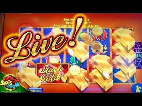 Stack of GOld BONUSES !!! PLAY 1c Aristocrat Video Slot