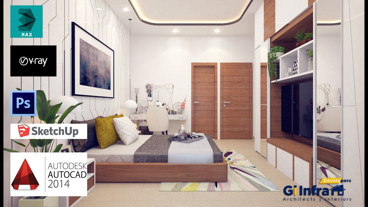3ds max 2016 VRAY 36 interior design