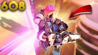 Amazing Zarya AIR-Flank!! | Overwatch Daily Moments Ep.608 (Funny and Random Moments)