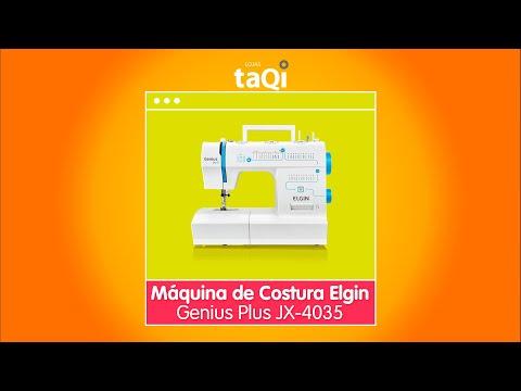 Máquina de Costura Elgin Genius Plus JX-4035
