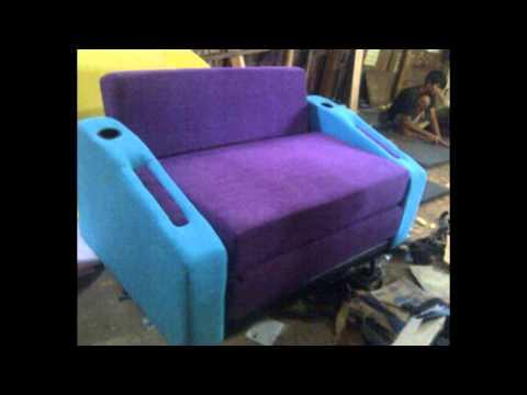 sofa bed reklening dua dudukan 140cm x 200cm