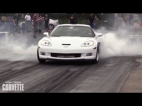 9 Second Procharged Grand Sport Corvette