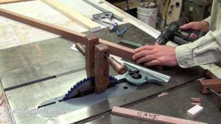 Table Saw Tip #3: Crosscut Angle Cut-offs | How To Set Miter Gauge Angles