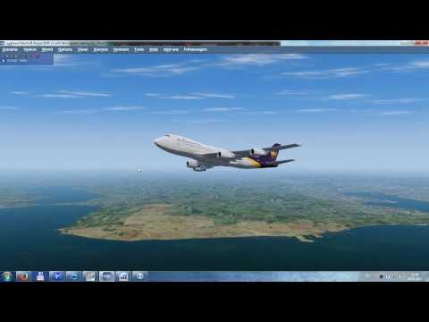 LTBA to LICJ Istanbul to Palermo UPS Airlines Cargo Ops Boeing 744F Part I - start, take off