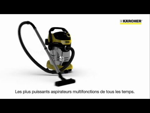 karcher aspirateur wd3 premium youtube. Black Bedroom Furniture Sets. Home Design Ideas