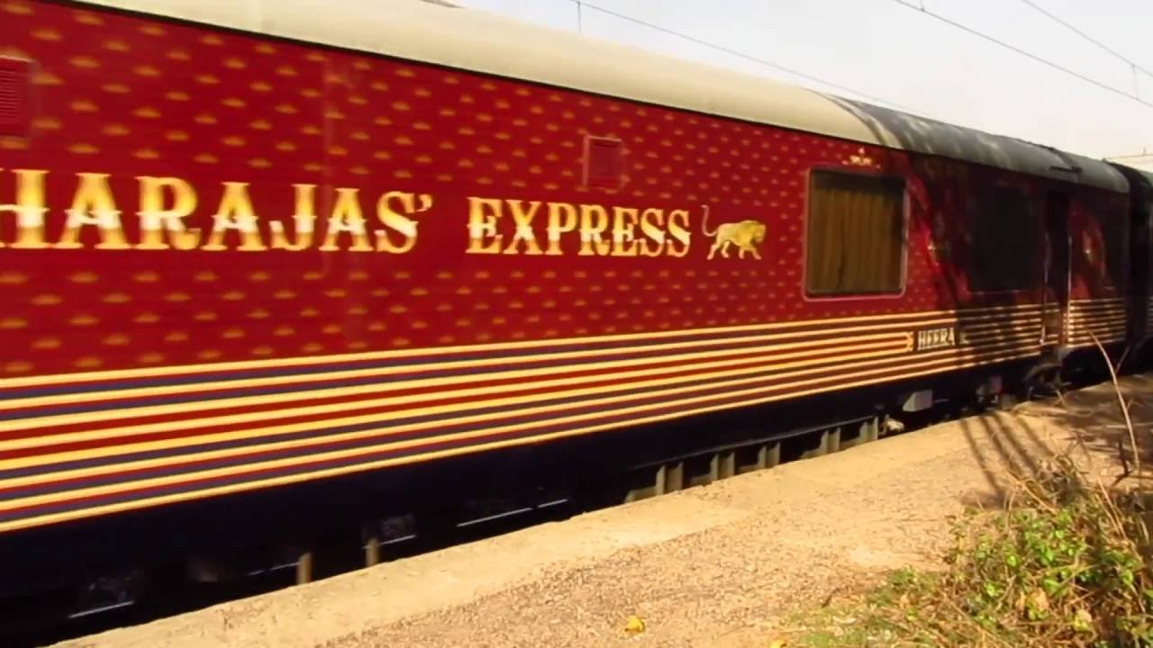 Maharajas Express Luxury Train Of India Youtube
