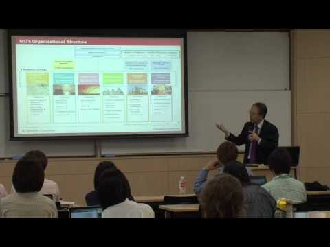 INNOVATOR SEMINAR BY MITSUBISHI CORPORATION VICE PRESIDENT AT KEIO MEDIA DESIGN