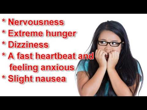 Low Blood Sugar Symptoms - You Should Be Aware of