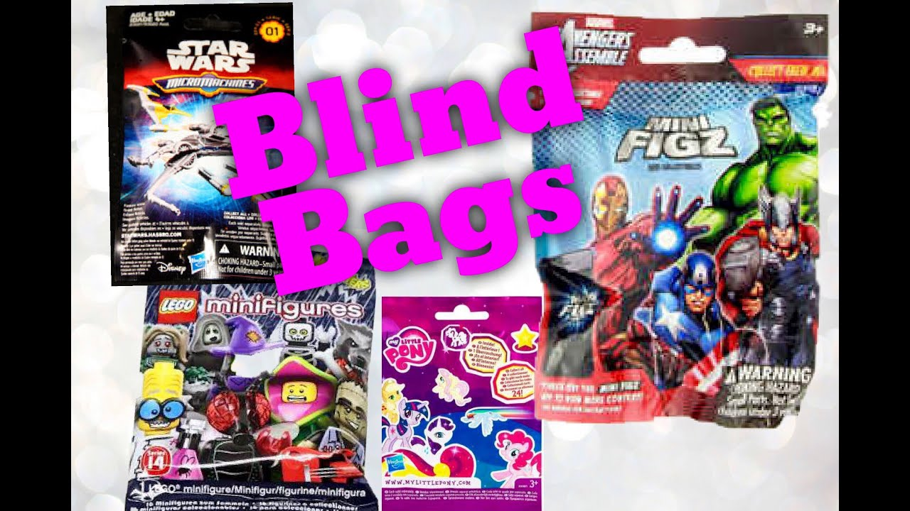 Mystery Blind Bags Star Wars Marvel Lego Minis Monsters My