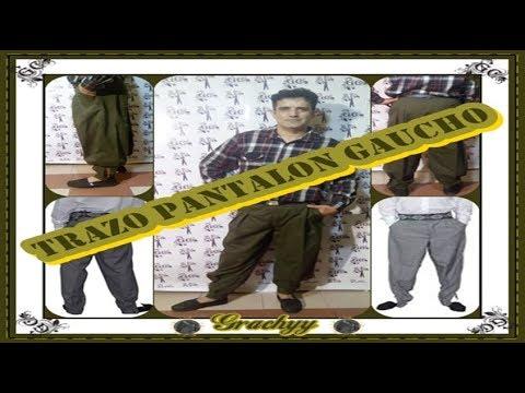Trazo Pantalon Gaucho Youtube