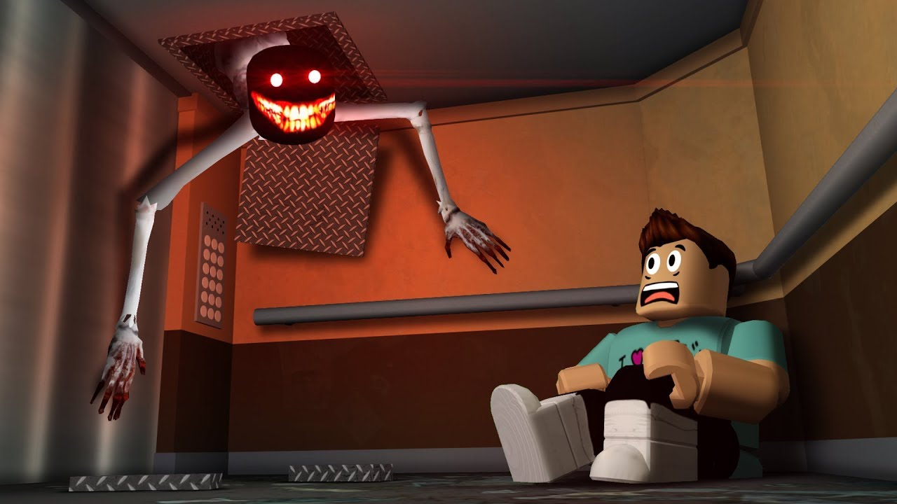 Denis Horror Roblox Trapped In A Cursed Elevator In Roblox Youtube
