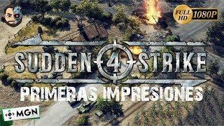 PRIMERAS IMPRESIONES (RTS - WW2) #1 - Sudden Strike 4 - 1080p - Gameplay en ESPAÑOL