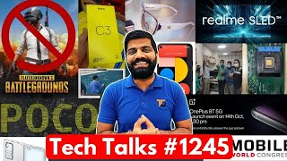 Tech Talks #1245 - PUBG Permanent Ban Reason, Indian Processor, Poco F2 Launch, OnePlus 8T, MWC21
