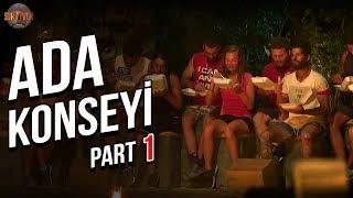 Ada Konseyi 1. Part   37. Bölüm   Survivor Türkiye - Yunanistan