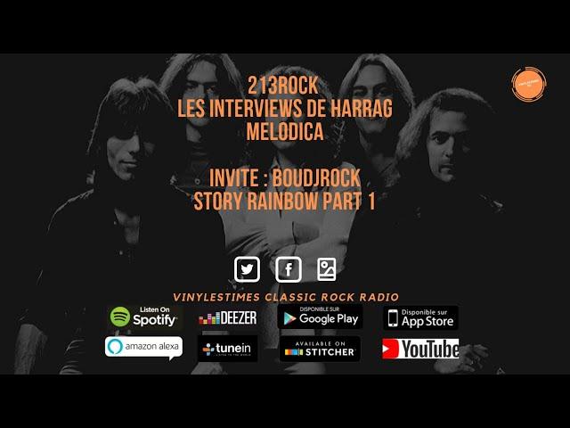 213Rock Harrag Melodica 🎧 Podcast 🎧 BoudjRock -Story Rainbow Part-1 17 09 2019