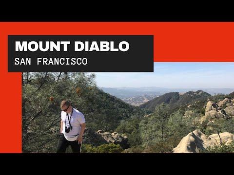 Гора Дьябло - километровая вершина над заливом и Сан-Франциско