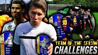 TEAM OF THE SEASON FOTBALL CHALLENGES!! 🎁💥 GARANTERTE TOTS SPILLERE PÅ FIFA 18!!