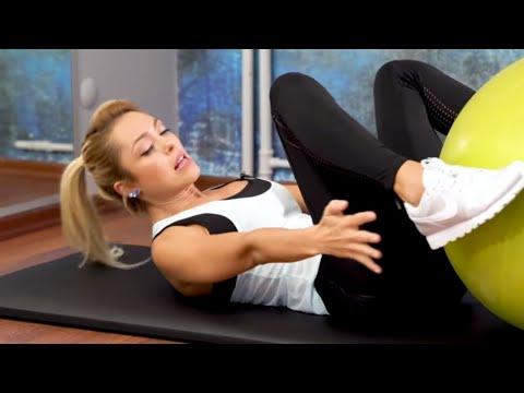Tüm Vücudu Sıkılaştıran 50 Dakika Pilates Egzersizi 3. Bölüm