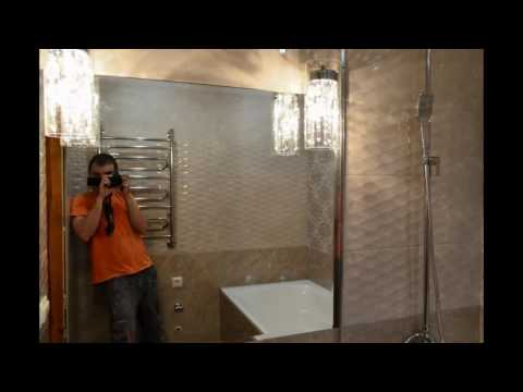Укладка крупноформатной плитки в небольшой ванну. kerama marazzi ричмонд