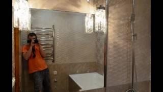 Укладка крупноформатной плитки в небольшой ванну. kerama marazzi ричмонд(, 2016-06-04T20:18:52.000Z)