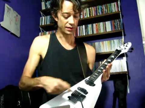 "Guitarra Baiana ""VALKYRIA"" - custom model made by BATANJ LUTHIER for MARCOS MOLETTA"